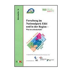 NUA-Heft Nr. 16: Forschung...